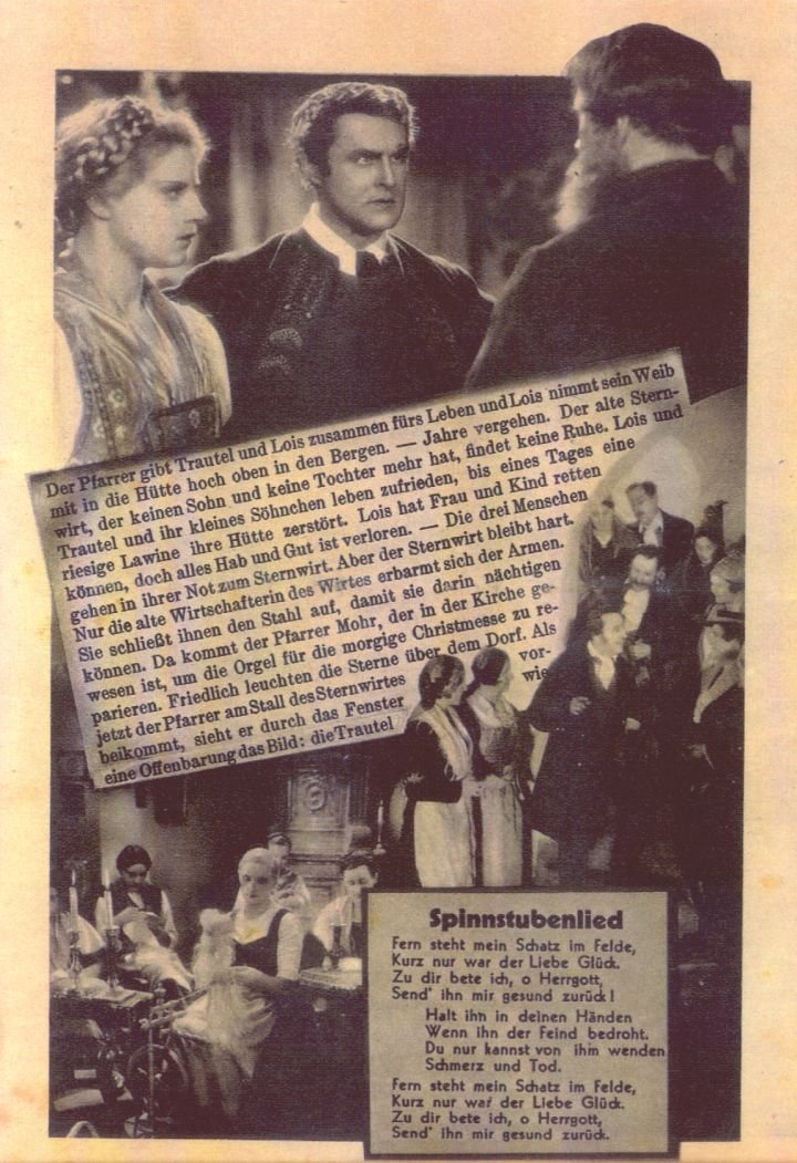 1933: der erste Film über \'Stille Nacht, heilige Nacht\'